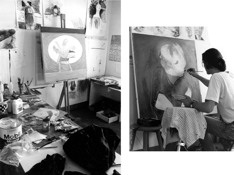 Chinatown studio, c1990.
