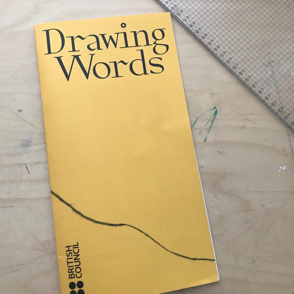 drawing words british council david mackintosh