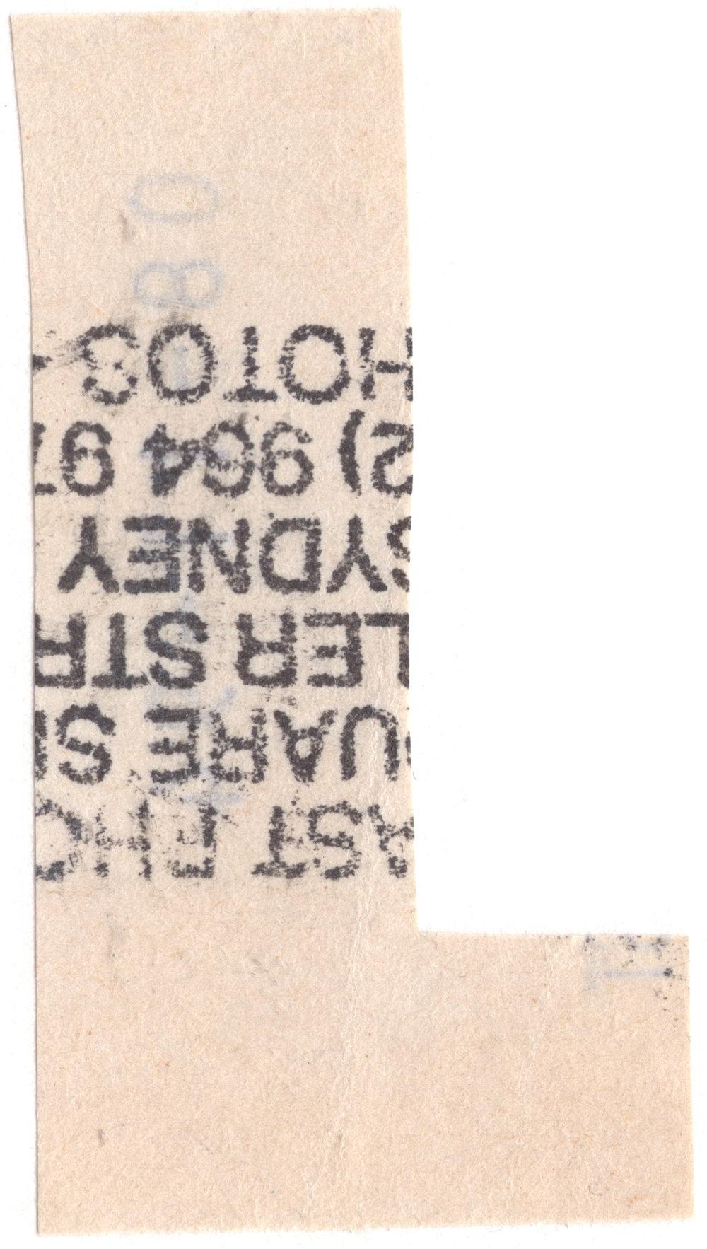letter follows L david mackintosh