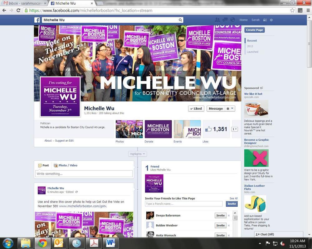Wu Facebook Page
