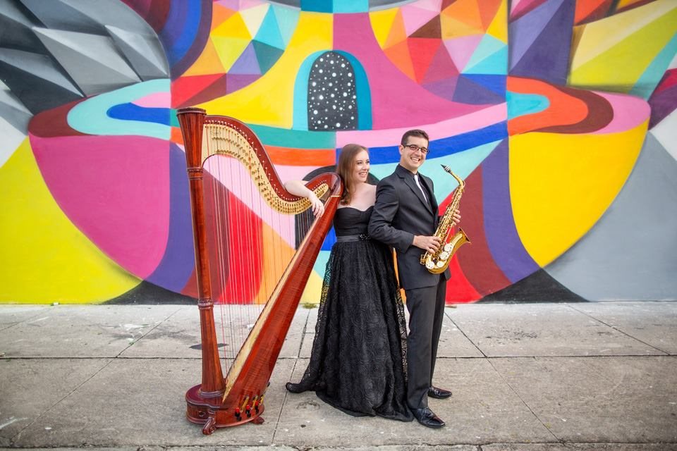 Kontra Duo, commissioning ensemble of  New Airs and Dances