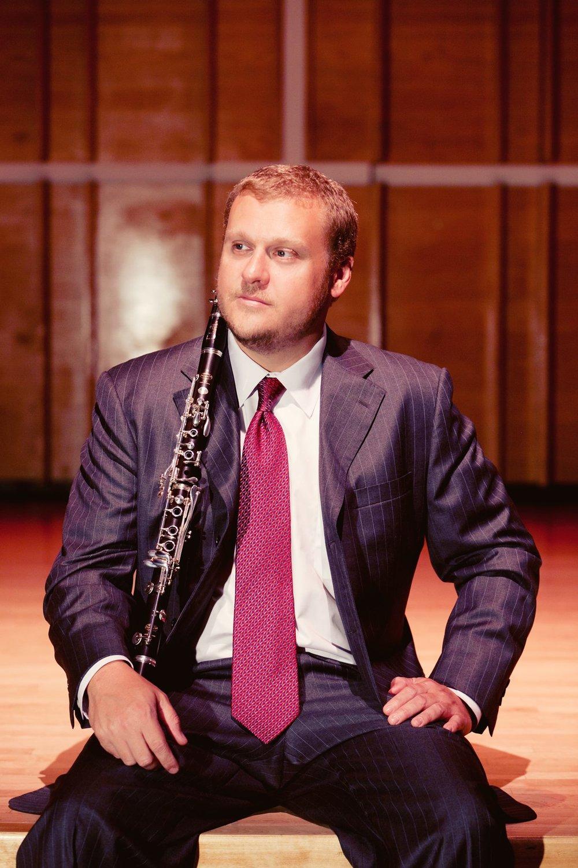 Chris Grymes, clarinetist