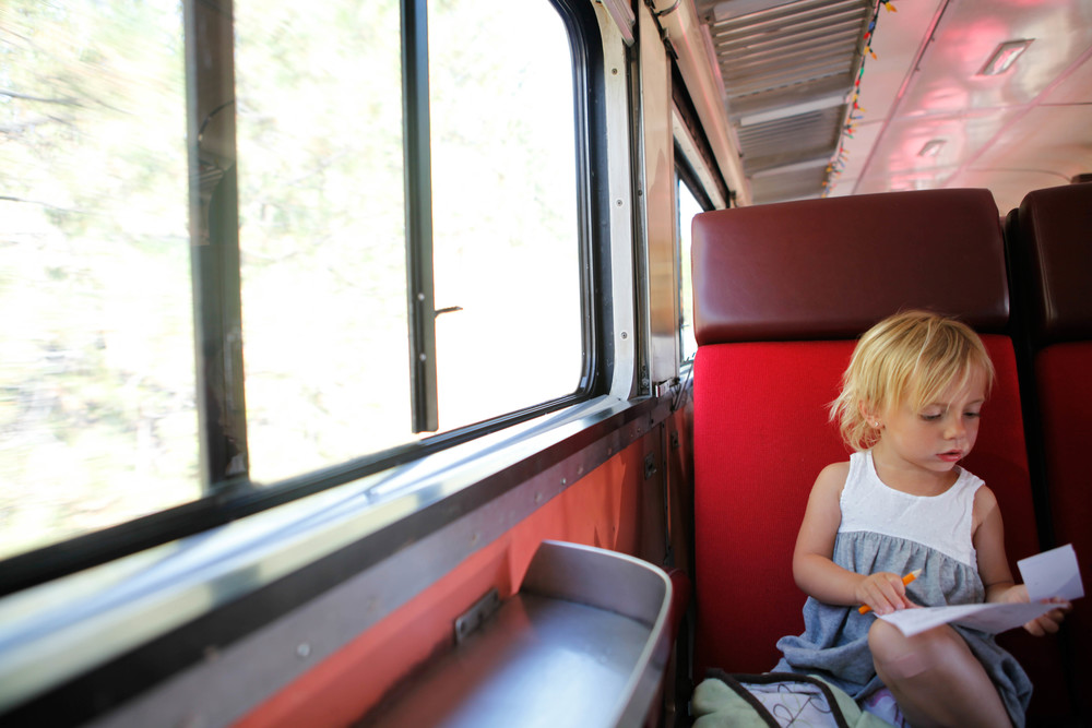 we took the kettle valley railway, it was so much fun the kids loved it, it had beautiful views and a sweet guy who sang us some songs :)