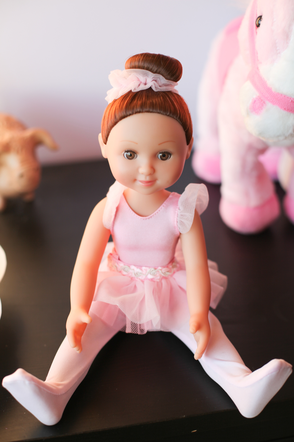 a pretty ballerina doll Autumn got for her birthday