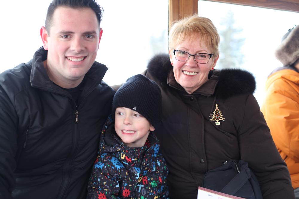 Daddy, Linc and grandma McCollum