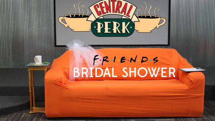central perk bridal shower title image