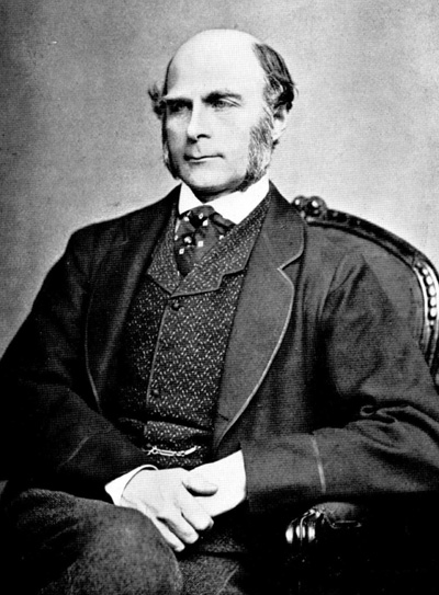 Sir  Francis Galton  initially developed the ideas of eugenics using social statistics.