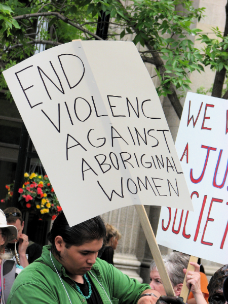 End Violence Against Aboriginal Women (image -   Grant Neufeld)