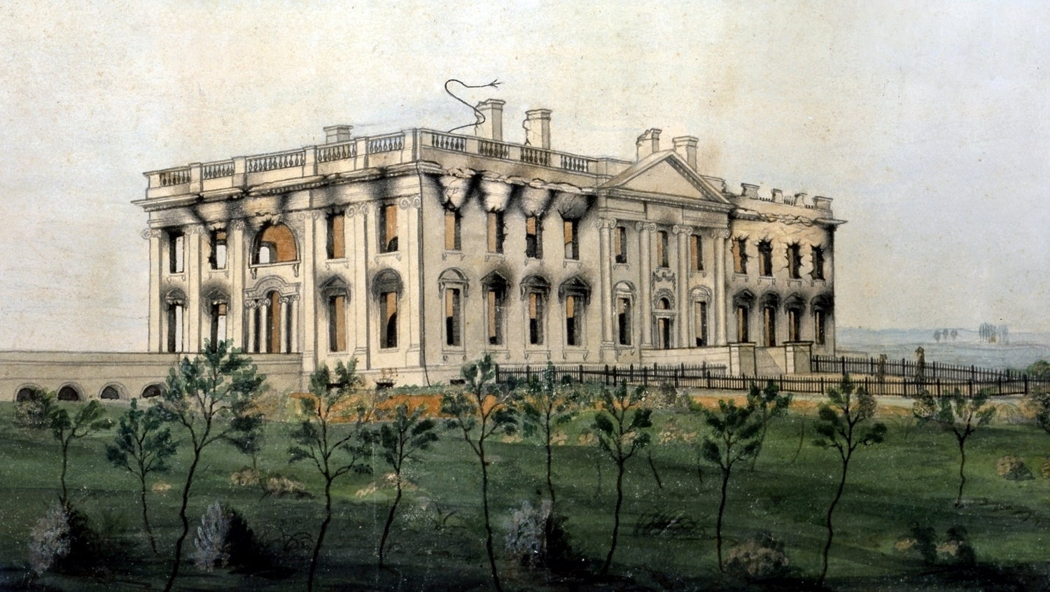 The President's Mansion by George Munger, ...