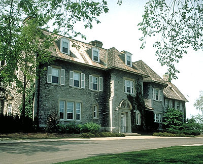 24 Sussex Drive, the Prime Minister's Residence via  Canadian Encyclopedia .