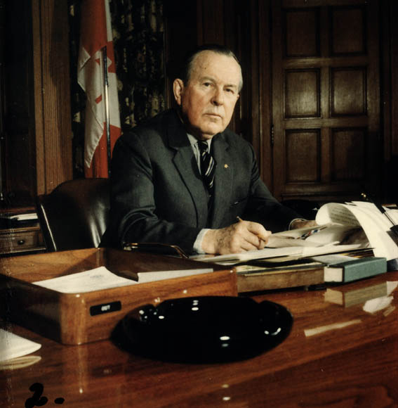 Lester B. Pearson via  Library and Archives Canada .