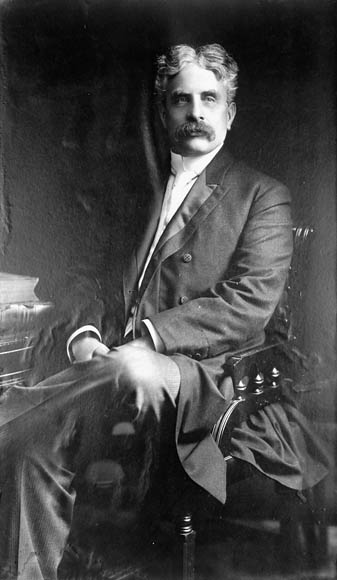 Sir Robert Borden via  Library and Archives Canada .