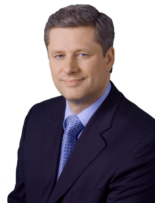 Stephen Harper, via  Library and Archives Canada .