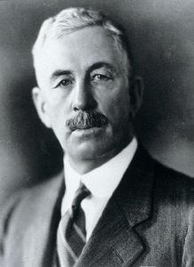 Progressive Party leader T.A. Crerar, via  Canadian Encyclopedia .