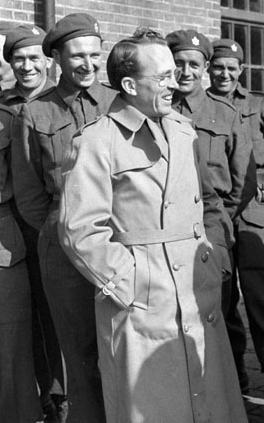 Tommy Douglas in 1945, via  Wikipedia .