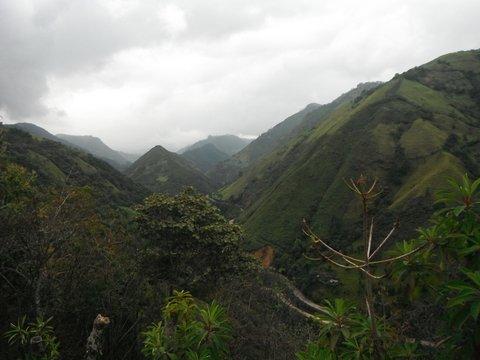 las montañas, Coconuco, Cauca, Colombia