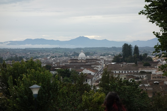view of Popayán, Colombia