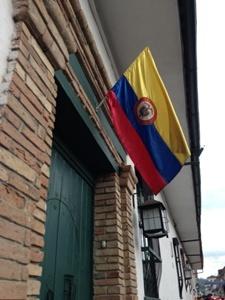Colombia bandera, Popayan