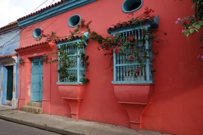 Edificio en el centro, Cartagena de las Indias
