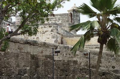 La muralla en el centro, Cartagena de las Indias