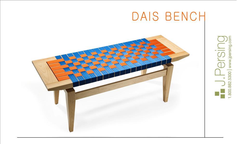 New Dais Bench