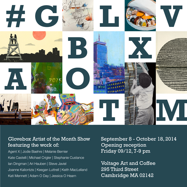 My work will be a part of a show in Boston put on by the lovely folks at Glovebox. They did a feature on my work and my studio last year and they put on some great events all around Boston, if you are up that way check it out!   http://glvbx.com/glvbxaotm-show-at-voltage/