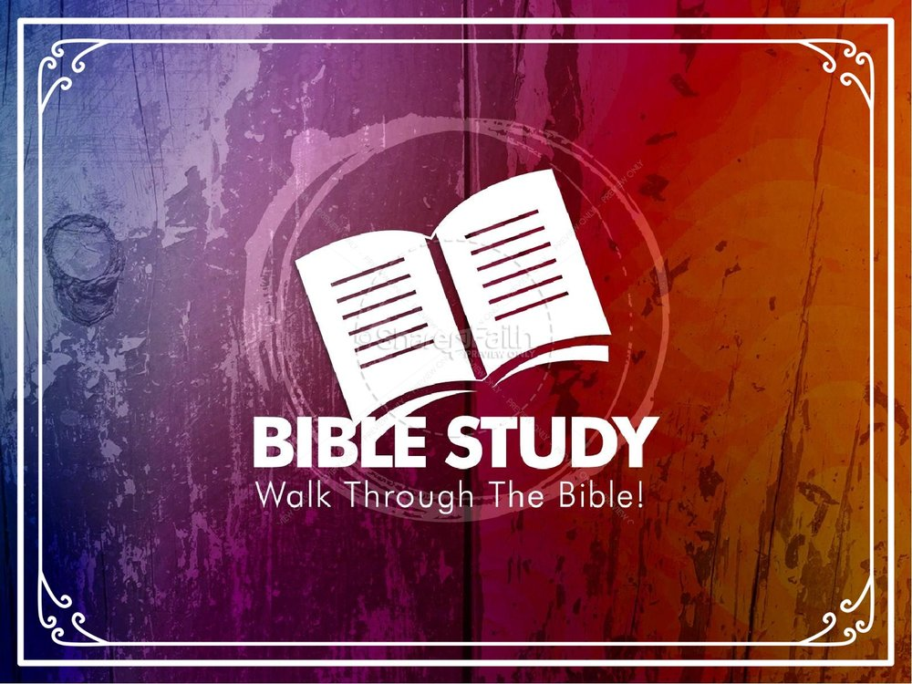 Every Sunday at 10:30 we dig into God's Word in an in depth Bible Study -