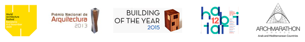 WAF 2009 Barcelona                     PNA - Cabo Verde                                     Archdaily 2015                                               Habitar 2015                      Overall Prize - Archmarathon