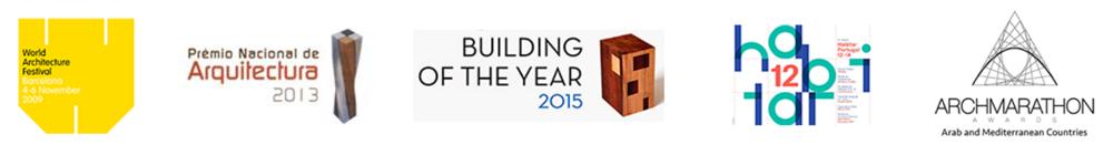 WAF 2009 Barcelona           PNA - Cabo Verde                   Archdaily 2015                       Habitar 2015           Overall Prize - Archmarathon