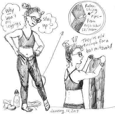 Diary Comic: Leggings