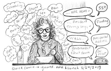 Diary Comic: Ignored