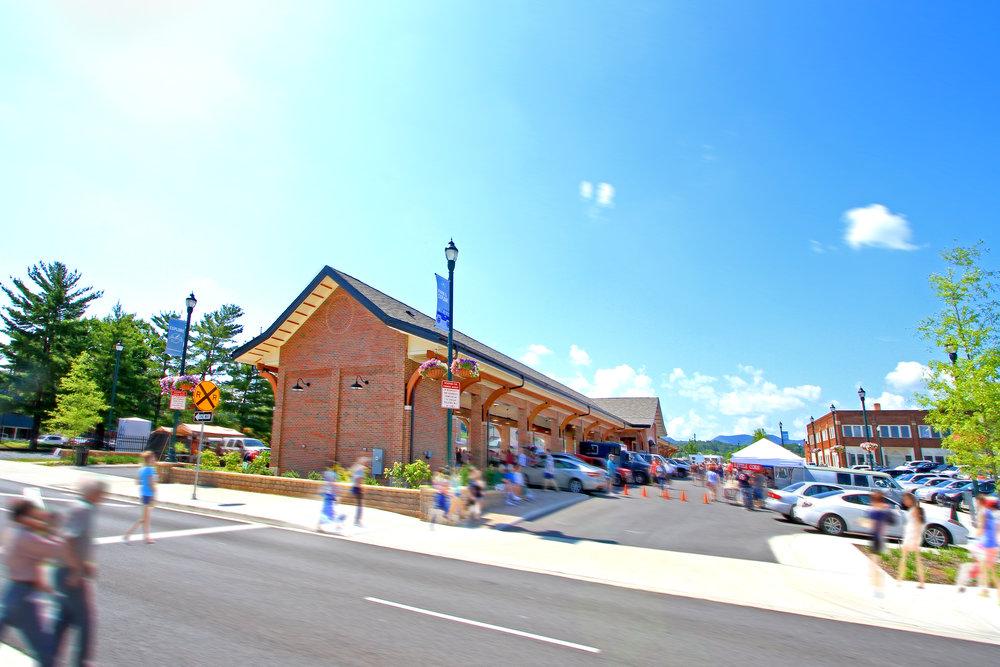 Johnson City Farmer's Market Pavilion TN