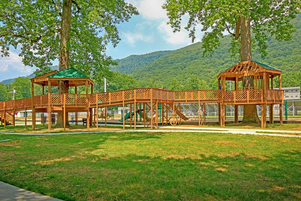 Bullitt Park Treehouses | Big Stone Gap, VA