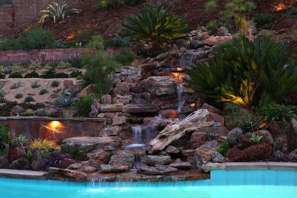 Singing Gardens, San Diego's landscape and garden designer ... on Backyard Hill Landscaping Ideas id=70957