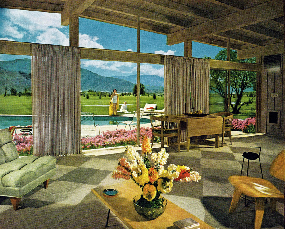 Mid Century Modern 1950 39 S Palm Springs Beyond Aesthetically Teasing Beauty Is Truth