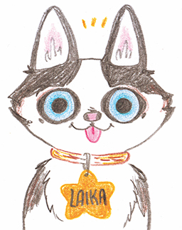Laika - A little mini zine introducing my little dog!