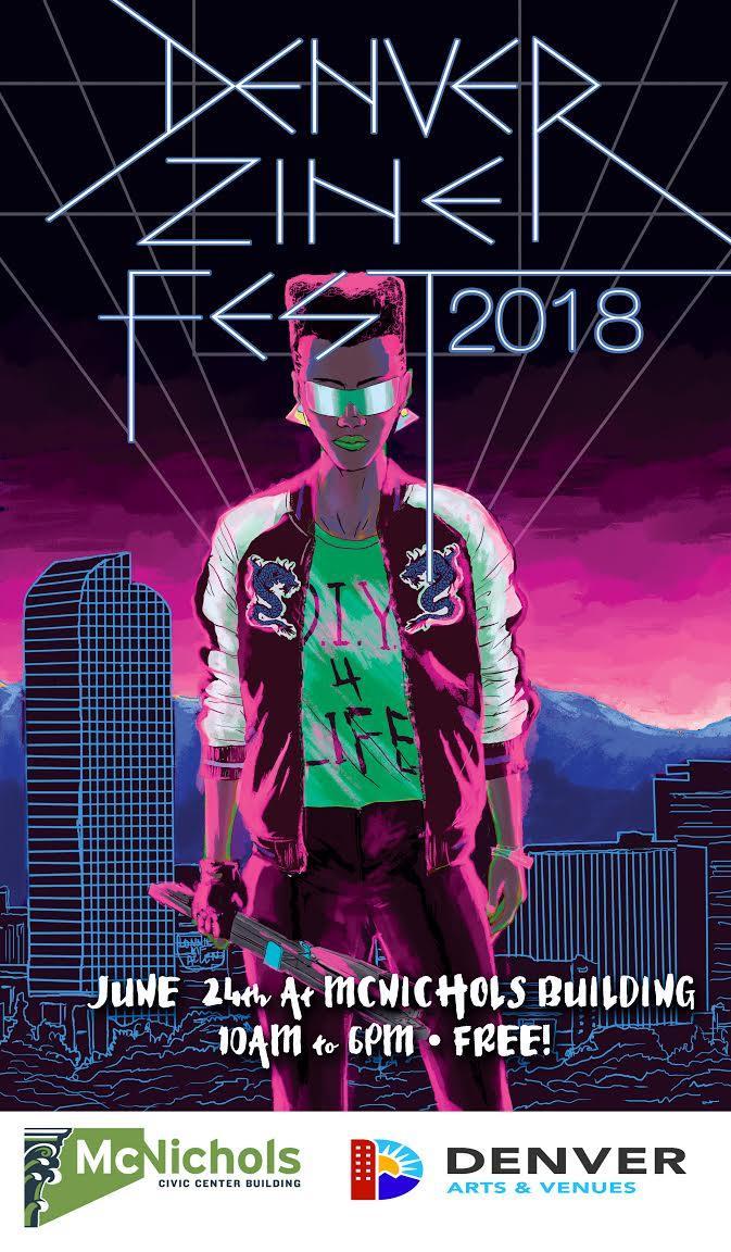 Poster art by  Lonnie MF Allen !