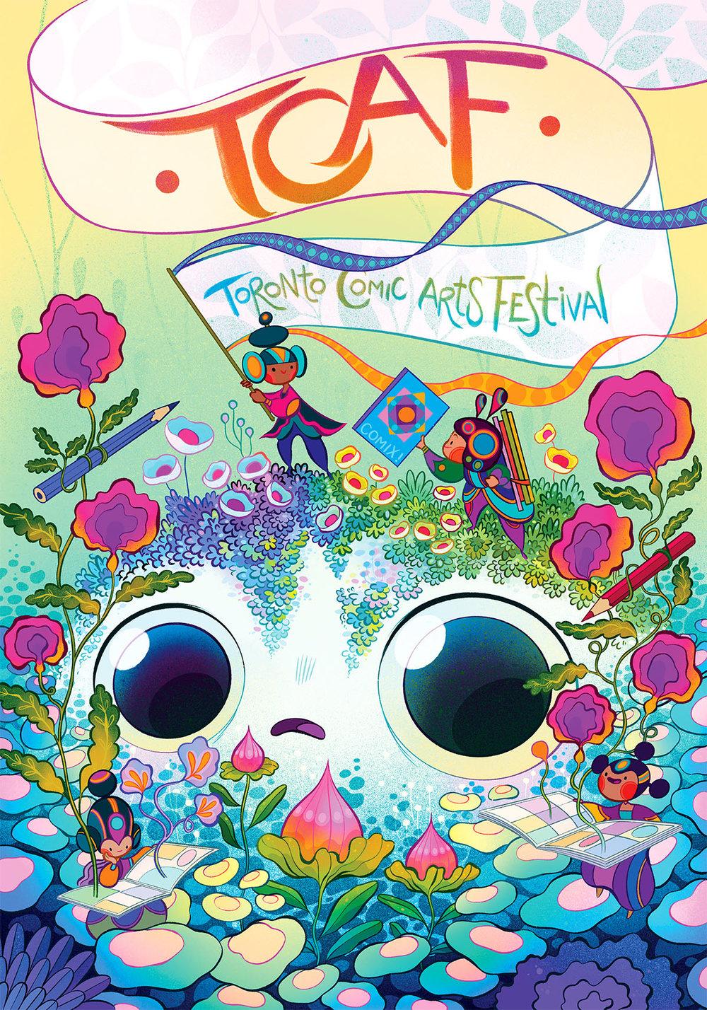 TCAF 2019 poster by  Lorena Alvarez !