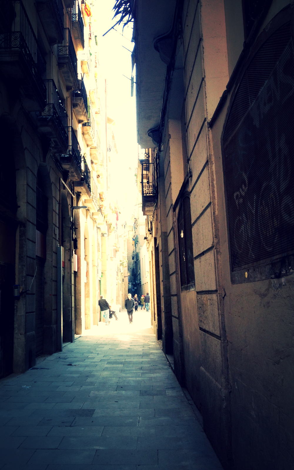Alley way I, Barcelona