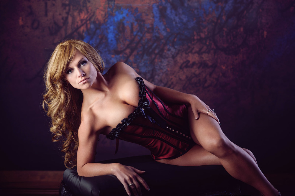 Des Moines, Iowa boudoir photographer