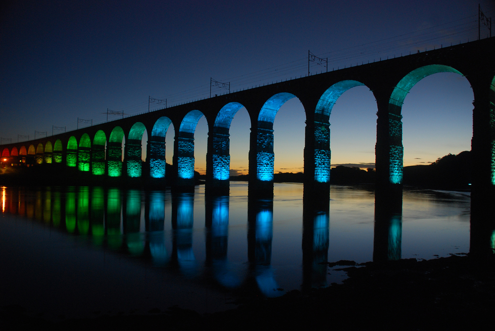 Royal Border Bridge - Photo by Tim Kirton