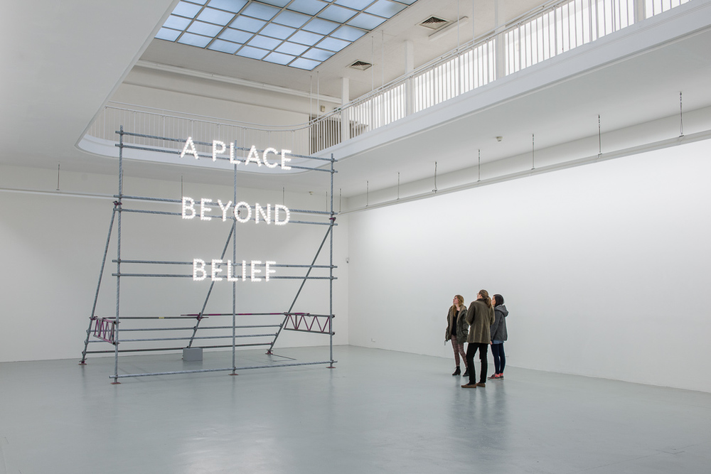 Nathan Coley  'A Place Beyond Belief (Freiburg)'  Germany   Image Credit : Jannes Linders