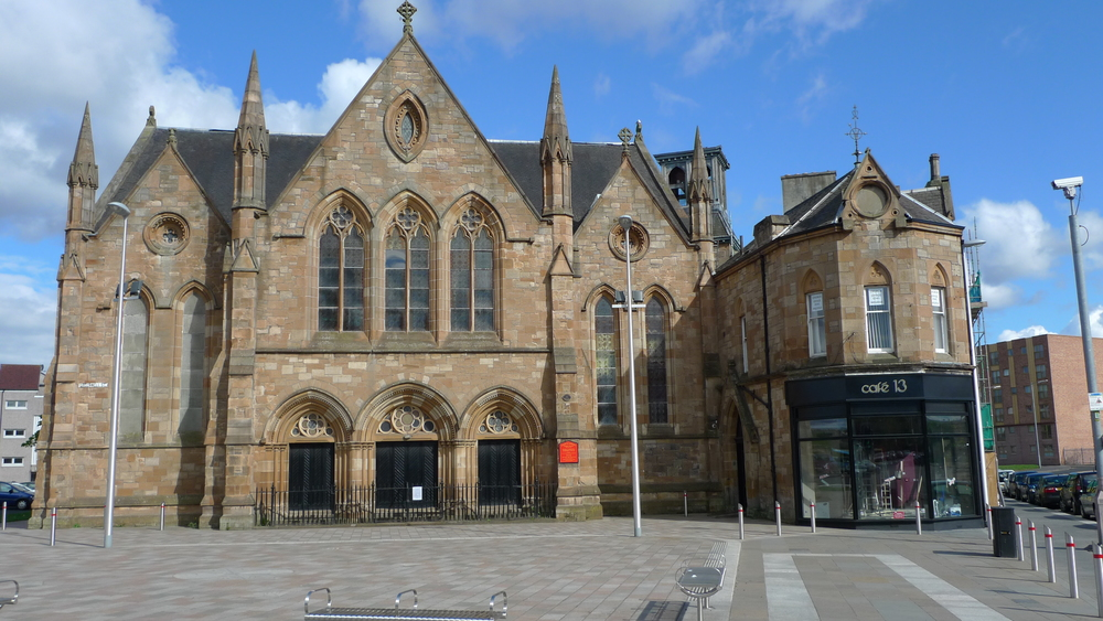Cafe 13 took on the space which we refurbished for Govan and Linthouse Parish Church - they provide freshly prepared, high quality meals, snacks and coffees for the community who live and work in the area.
