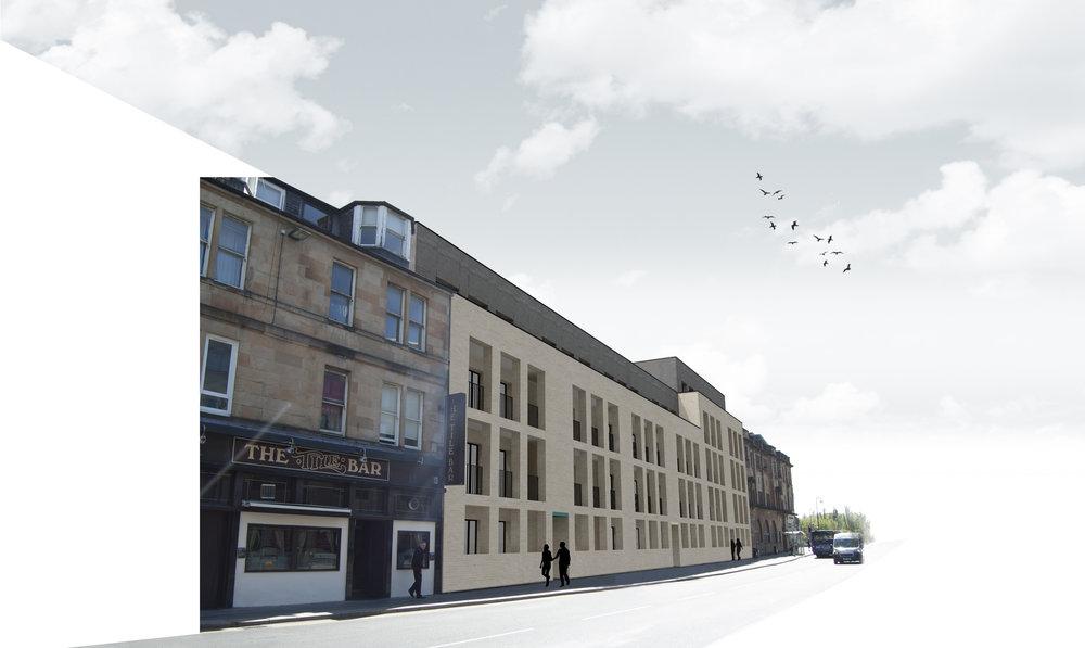 Corner of Larkfield Street & Inglefield Street