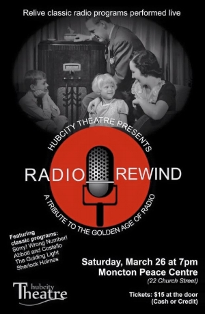 Radio Rewind  (March 2016)