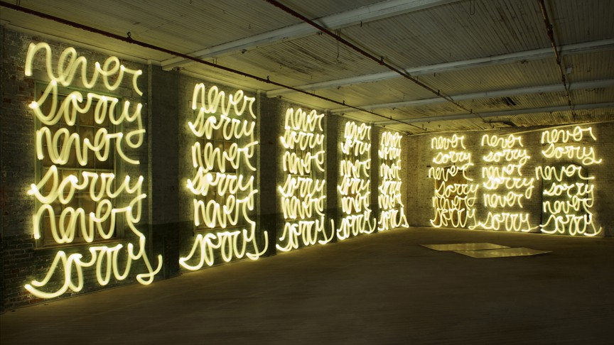 Jasmine Never Sorry (for Ai Weiwei), 2011