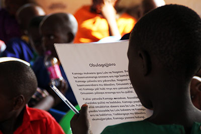 Photo: Kerry Bradshaw, VSO volunteer, Uganda