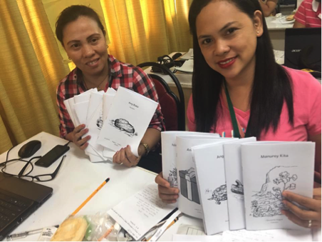 Enabling Writers authors in the Philippines.