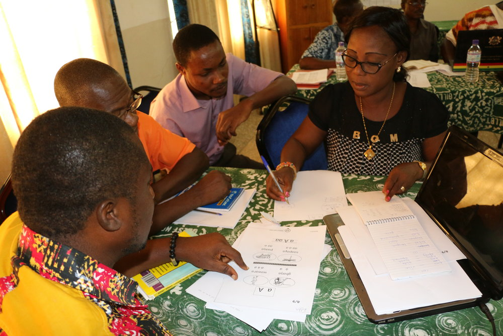 collaborating with SIL LEAD on the Ghana Learning project