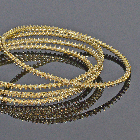 Antioch Gold Granulated Bangles1b.jpg